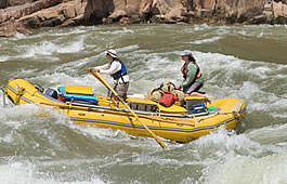 Oar Boat Rafting in the Grand Canyon